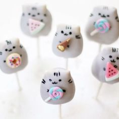 Pusheen cake pop cuties video tutorial