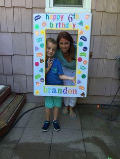 Selfie emoji sign for my son's emoji birthday party