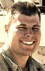Army CPL Joshua J. Kynoch, 23, of Santa Rosa, California. Died October 1, 2005, serving during Operation Iraqi Freedom. Assigned to 2nd Battalion, 7th Infantry Regiment, 3rd Infantry Division, Fort Stewart, Georgia. Died of injuries sustained when an improvised explosive device detonated near his vehicle during convoy operations in Bayji, Salah ad Din Province, Iraq.