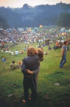 A couple at Woodstock photographed by Elliot Landy, 1969