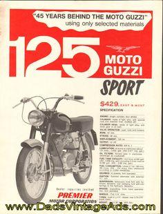 1966 Moto Guzzi 125 Sport