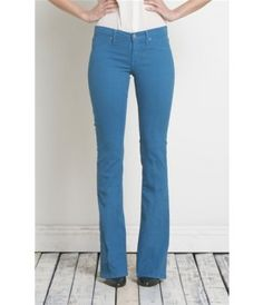 Henry &amp Belle Micro Flare - White - The Blues Jean Bar the Best