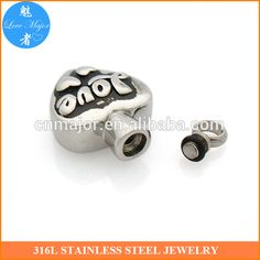 Latest design heart shaped stainless steel cremation urn pendant unisex jewelry MJCP-085