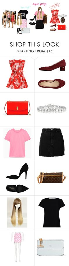"""mean girls"" by ally-dcc on Polyvore featuring Le Roi De Pigalle, Henri Bendel, Collette Z, IRO, PrimaDonna, Louis Vuitton, WithChic, Zimmermann, MSGM and Chloé"