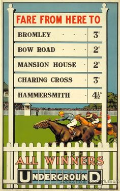 All winners ~ Charles Sharland
