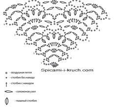 схема вязаной крючком шали Crochet Shawl Diagram, Crochet Chart, Crochet Lace, Crochet Stitches, Crochet Shawls And Wraps, Crochet Scarves, Crochet Designs, Crochet Patterns, Crochet Triangle Scarf