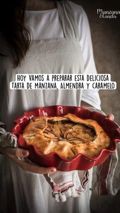 Pie Recipes, Great Recipes, Vegan Recipes, Cooking Recipes, Caramel Tart, Caramel Apples, Veggie World, Flan Cake, Slow Food