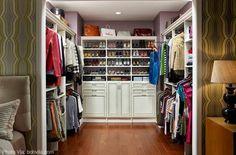 Walk In Closet Shelves - Contemporary - closet - ClosetMaid Wire Closet Shelving, Closet Shelves, Closet Storage, Closet Organization, Organization Ideas, Storage Ideas, Organizing, Shoe Organizer, Shelving Ideas