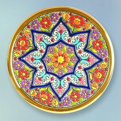 Handmade in Sevilla. Plate Wall Decor, Plates On Wall, China Clay, Egg Art, Pottery Designs, Shape And Form, Pattern Books, Mandala Art, Handicraft