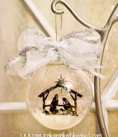 DIY CHRISTMAS ORNAMENTS | Diy Glass Christmas Tree Ornaments | Shelterness