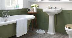 Edwardian Pedestal Basin - Bathroom Suites | Bathrooms.com