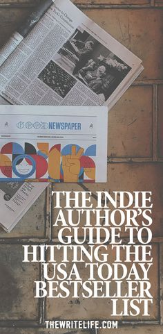 The Indie Author's Guide to Hitting the USA Today Bestseller List | The Write Life