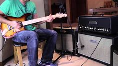 Brunetti Mercury 50W Head Demo - More awesome playing from Tom Quayle