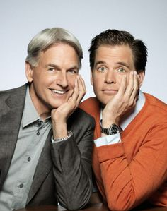 Mark Harmon & Micheal Weatherly ~ NCIS