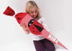 Schultüten - Schultüte Marienkäfer - ein Designerstück von josefines-kinder bei DaWanda