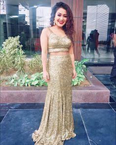 Latest photos of Neha Kakkar Bikini Pictures, Bikini Photos, Indian Wedding Outfits, Indian Outfits, Neha Kakkar Dresses, Stylish Dresses, Fashion Dresses, Gagra Choli, Alia Bhatt Cute