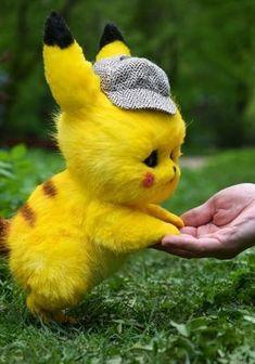 Pikachu Pikachu, Deadpool Pikachu, Baby Animals Super Cute, Cute Little Animals, Big Animals, Pikachu Drawing, Pikachu Tattoo, Fluffy Cows, Cute Pokemon Wallpaper