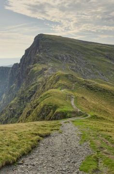 Caderidris mountain in Snowdonia, Wales. My parents made me climb this when I was 6yrs old. I wasn't pleased but even at that age felt such spiritual connection at the top looking down.
