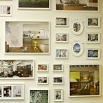 How To Plan a Gallery Wall | With these helpful hints, planning a wall filled with your favorite framed photographs and artwork is no longer a daunting task.