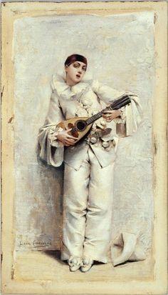 Pierrot, Comerre, Léon-François (Trélon, 10–10–1850 - Le Vésinet, 20–02–1916), peintre   Paris Musées