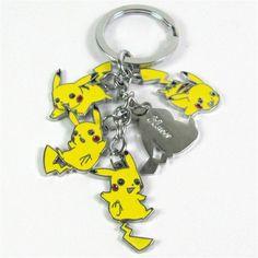 ONE Pikachu MEWTWO Raichu /& others Fast ship Chose 1 Pokemon Keychain keychain