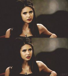 nina as Katherine Pierce Nina Vampire Diaries, Vampire Diaries Quotes, Vampire Diaries The Originals, Katherine Pierce, Elena Gilbert, Damon Salvatore, Nina Dobrev, Canadian Actresses, Actors & Actresses