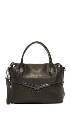 Description: A armored retired Botkier satchel with topstitched seams and a turn lock front pocket. Style Ideas, Satchel, Mini, Bags, Fashion, Handbags, Moda, Fashion Styles, Fashion Illustrations