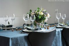 Scandinavian Christmas table styled by that nordic feeling