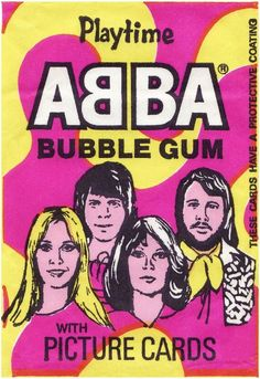 Abba Bubble Gum, Repinned by Tiffany Says Hop Into My DeLorean (1)