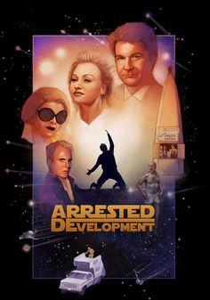 Arrested Development and Star Wars poster mashup