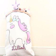 Painting Unicorns is my favourite! Storage sacks are back in the shop <3 🦄 • • • • • #handmade #handcrafted #handpainted #unicorn #storage #storagesack #sack #instashop #igshop #shopopen #bbloggers #igers #igdaily #kids #nursery #bedroom #nurseryinspo #interior #kidsinterior #kidsdecor