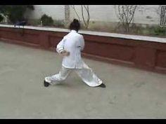 a kung fu master's amazing exercise - YouTube