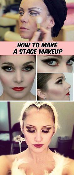 How to make a stage makeup - TopBeautyList.org