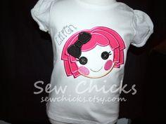 la la loopsy shirt by SewChicks on Etsy, $18.00