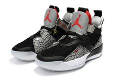 fd892ea6e9fb20 Buy Air Jordan 33 Black Cement Elephant Print Shoes-4 Sneakers Box