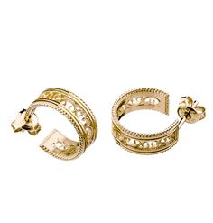 Filigree Earrings, Carat Gold, Finland, Jewerly, Traditional, Bracelets, Modern, Design, Products