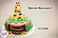 Sweet Cucas and Cupcakes by Rosângela Rolim: Fofura de Mesversario!