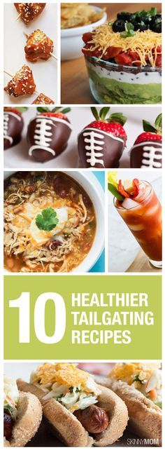 #Tailgates don't have to be unhealthy. Check out these #healthy recipes for game day!