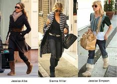 Celebrities by Ugg Boots