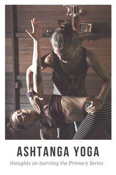 on learning the Ashtanga Primary Series Thoughts on learning the Ashtanga Yoga Primary Series.Thoughts on learning the Ashtanga Yoga Primary Series. Ashtanga Vinyasa Yoga, Iyengar Yoga, Partner Yoga, Yoga Breathing Techniques, Ashtanga Yoga Primary Series, Yoga Thoughts, Different Types Of Yoga, Yoga Posen, Yoga Videos