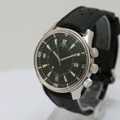 Jaeger-LeCoultre Polaris - Référence E859.   Exceptionnelle montre de plongée de 1967. Dream Watches, Fine Watches, Men's Watches, Watches For Men, Celtic Words, Beautiful Watches, Watch Brands, Vintage Watches, Jewelery