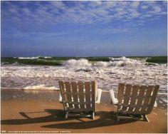 - Chaises en bord de mer