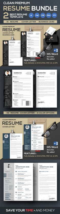 Resume Template Psd Ai Illustrator Ms Word Download Here Https