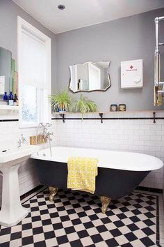 Modern bathroom styleation board features pins like small bathroom decor, dream bathroom, dream house, home deco, downstairs loo and Grey Bathrooms, Modern Bathroom, Small Bathroom, Bathroom Ideas, 1950s Bathroom, Bathroom Designs, Bathroom Plants, Bathroom Gray, Master Bathroom