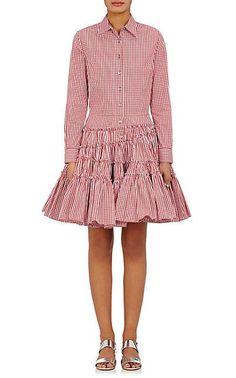We Adore: The Gingham Poplin Shirtdress from Jourden at Barneys New York