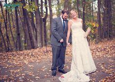 Mindy Sue Photography: A fall wedding at Oak Lodge, PA