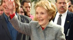 Former First Lady Nancy Reagan dies at 94 Nancy Reagan, Lady