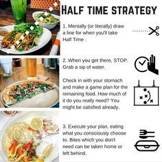 An Easy Way To Avoid Overeating: Take Halftime | Georgie Fear