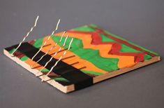 Kalimba con legno e forcine