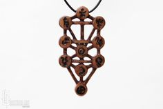 Jewish Kabbalah Jewelry: Ten Sephirot  Tree Of Life by CristherArt
